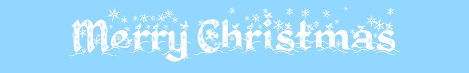 クリスマスカードで使えるPhotoshopのフォント一覧