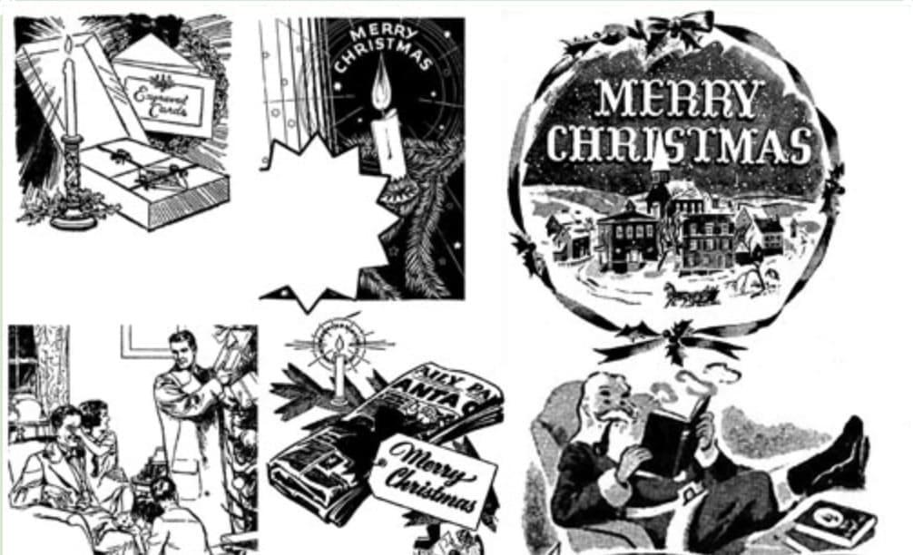 クリスマスカードで使えるPhotoshopのブラシ一覧